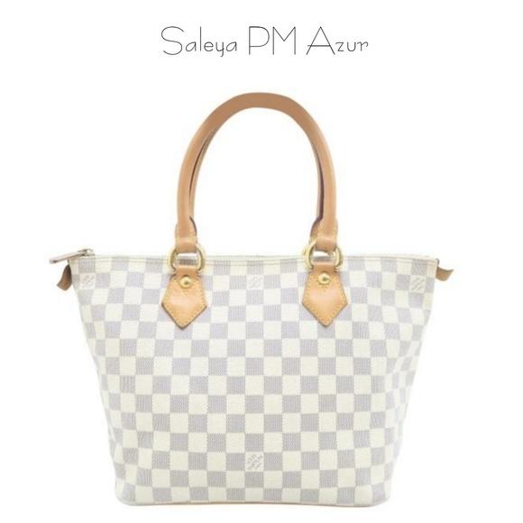 Louis Vuitton Handbags - Louis Vuitton Saleya PM Azur Tote